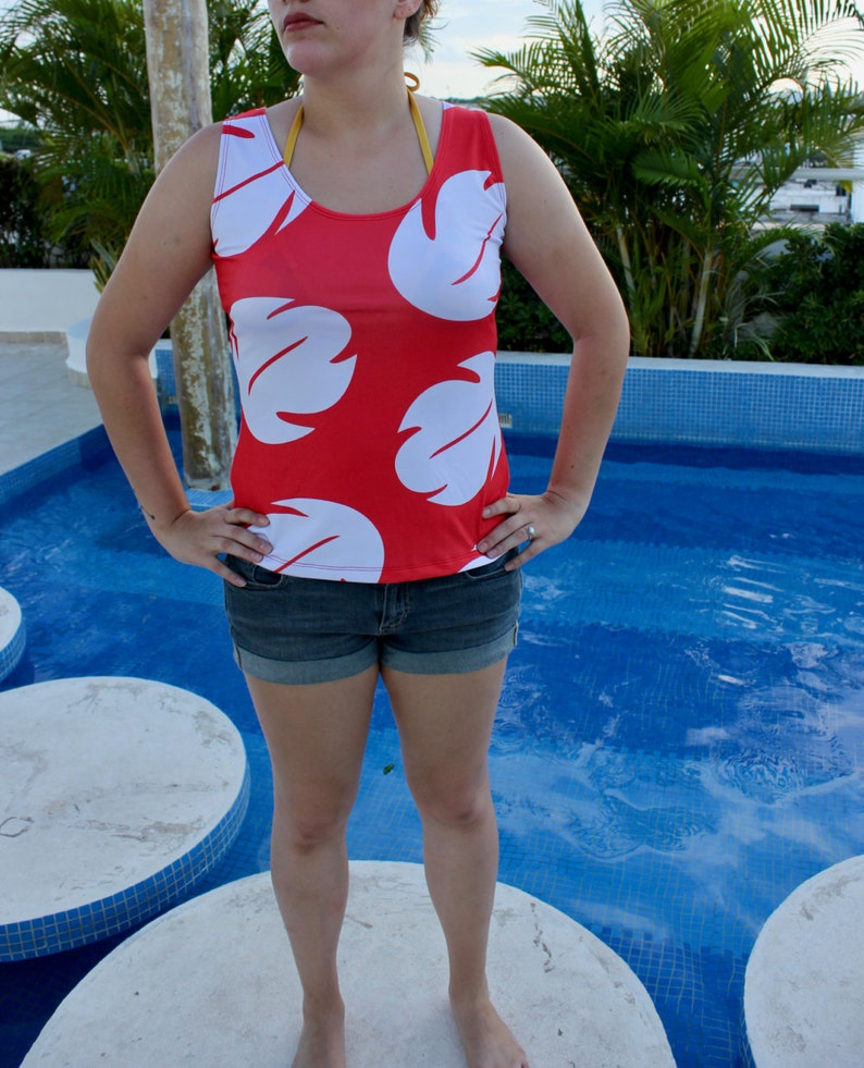 a51cb2a55d Women s Lilo and Stitch Lilo Inspired Tank Top