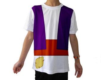 READY-to-SHIP Kid's Aladdin Inspired Shirt