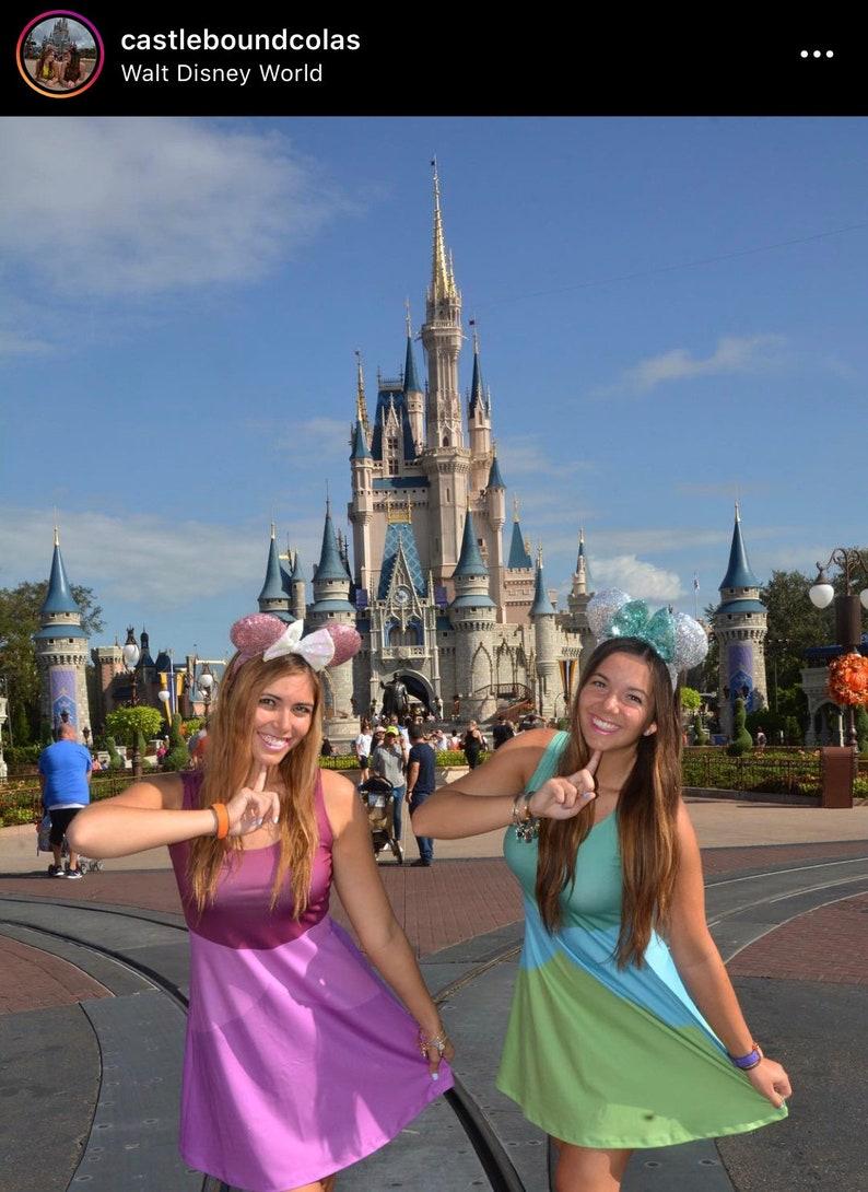 Anastasia Evil Stepsister Cinderella Inspired Sleeveless Dress