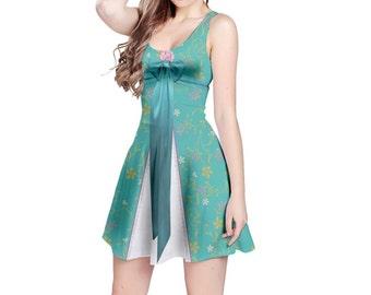 Giselle Enchanted Inspired Sleeveless Dress