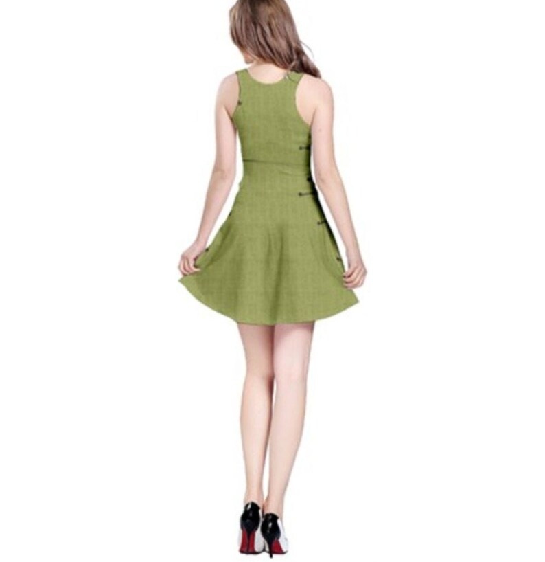 Oogie Boogie Nightmare Before Christmas Inspired Sleeveless Dress
