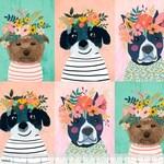 Blend - MC Floral pets puppy multi 129.101.01.1
