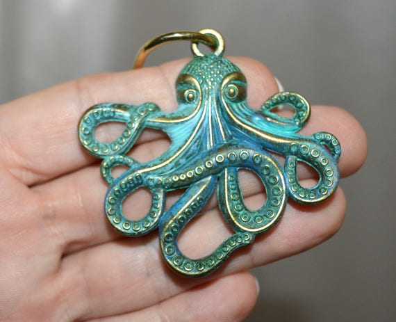 Octopus Shower Curtain Hooks Set Of 12 Bronze Optional