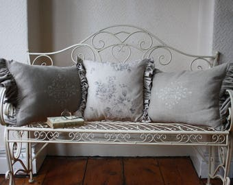 French Style Metal Bench or Love Seat