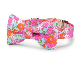 New! Lilly P. Bow Tie Dog Collar