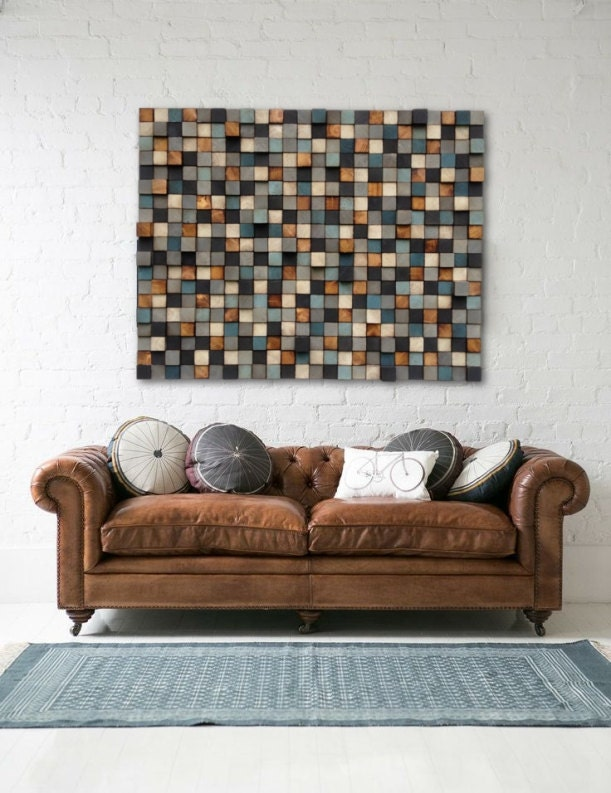 Holz-Wand-Kunst Holz-Wand-Kunst zurückgefordert Holz | Etsy