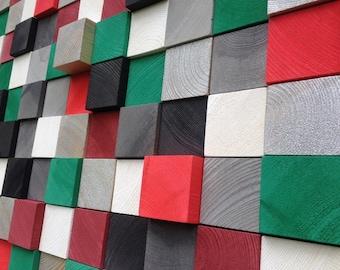 Abstract Wall Art - Modern Wall Sculpture