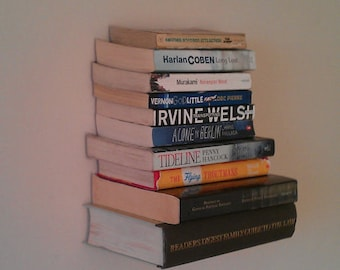 Hand Made Floating Invisible Book Shelf