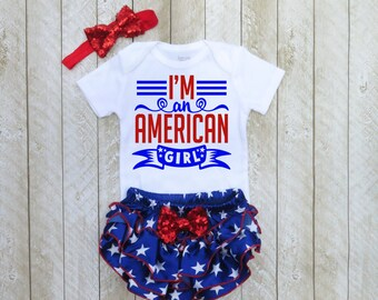 Baby girl fourth of July outfit Girls fourth of July outfit - Baby girl 4th of July Baby girl first fourth of July Baby girl 1st 4th of July