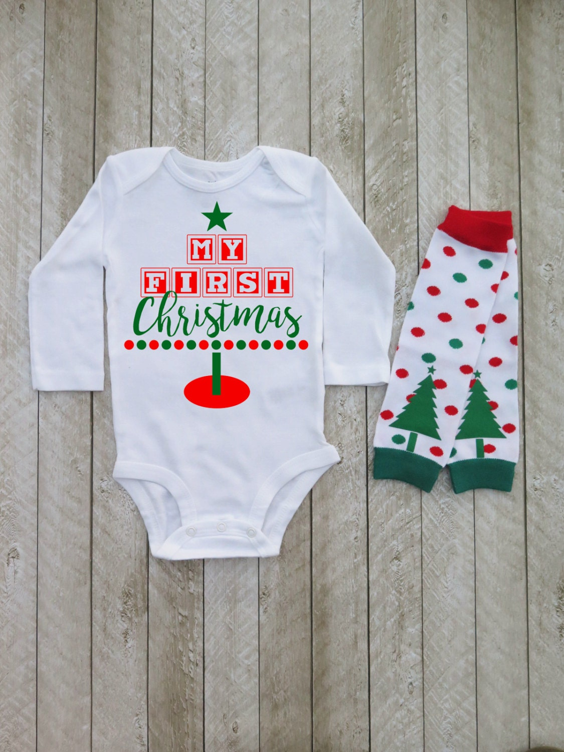 Baby boy first christmas outfit Christmas newborn outfits ...