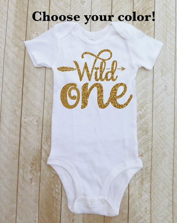 One Year Old Girl Birthday First Shirt