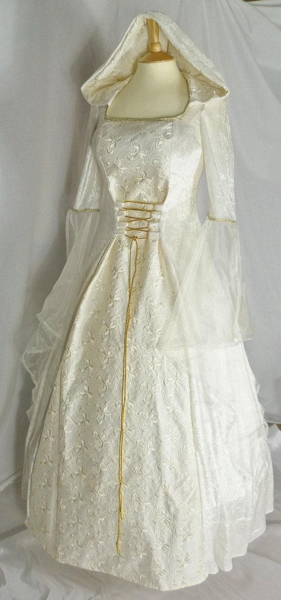 Medieval Wedding Dress Renaissance Wedding Gown Medieval | Etsy