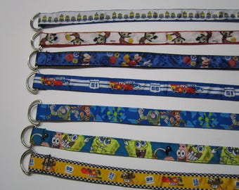 "Belt for kids 33 ""with several characters / sale"