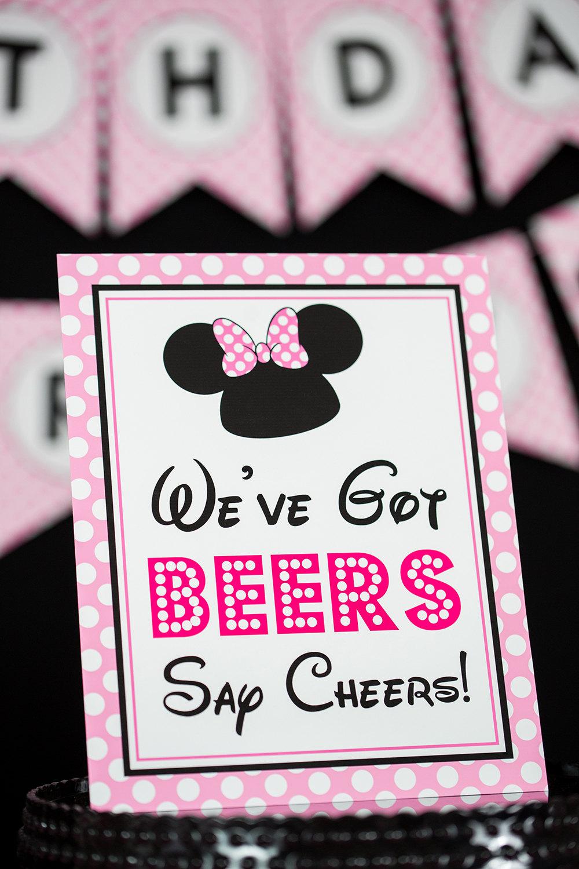 We Ve Got Beers Say Cheers Sign Instant Download Minnie Etsy