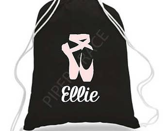 4d538894576 Ballet Drawstring Bag, Dance Bags, Ballet Bag, Personalized Dance Bags, Girls  Dance Bag, Ballet Gifts, Personalized Dance Bag, Dance Gifts