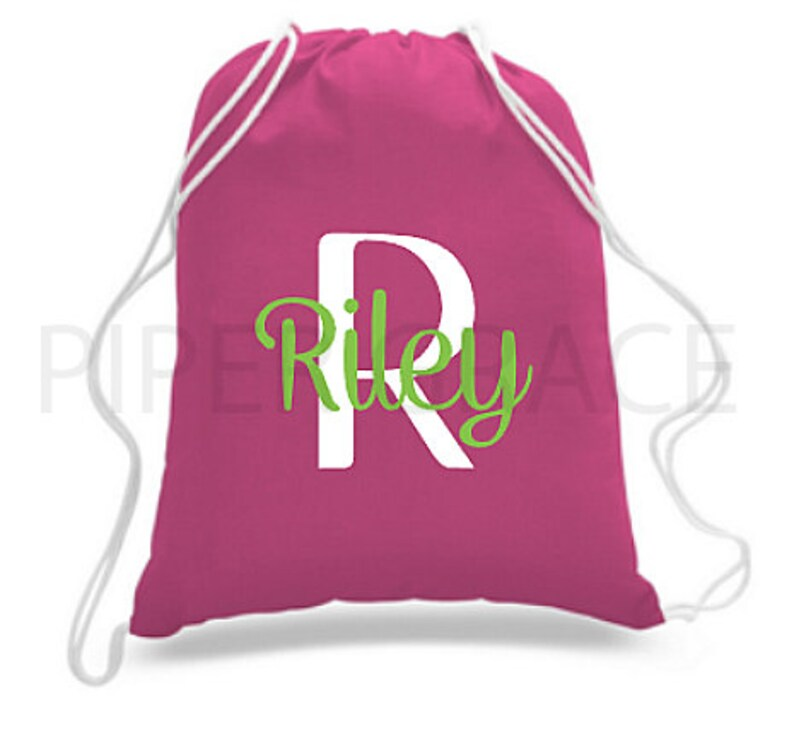 952d7489762b26 Personalized Drawstring Bag Drawstring Bag Children s