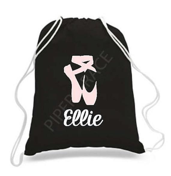 Ballet Drawstring Bag Dance Bags Ballet Bag Personalized  6e2c41e14ff