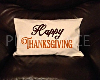 Thanksgiving Pillow Cover, Thanksgiving Decor, Thanksgiving Decorations