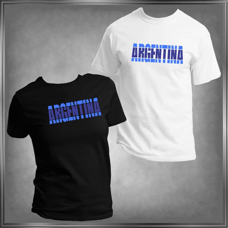 87b240d59 Argentina Argentine Flag Shirt All Sizes Infant 6 mos to