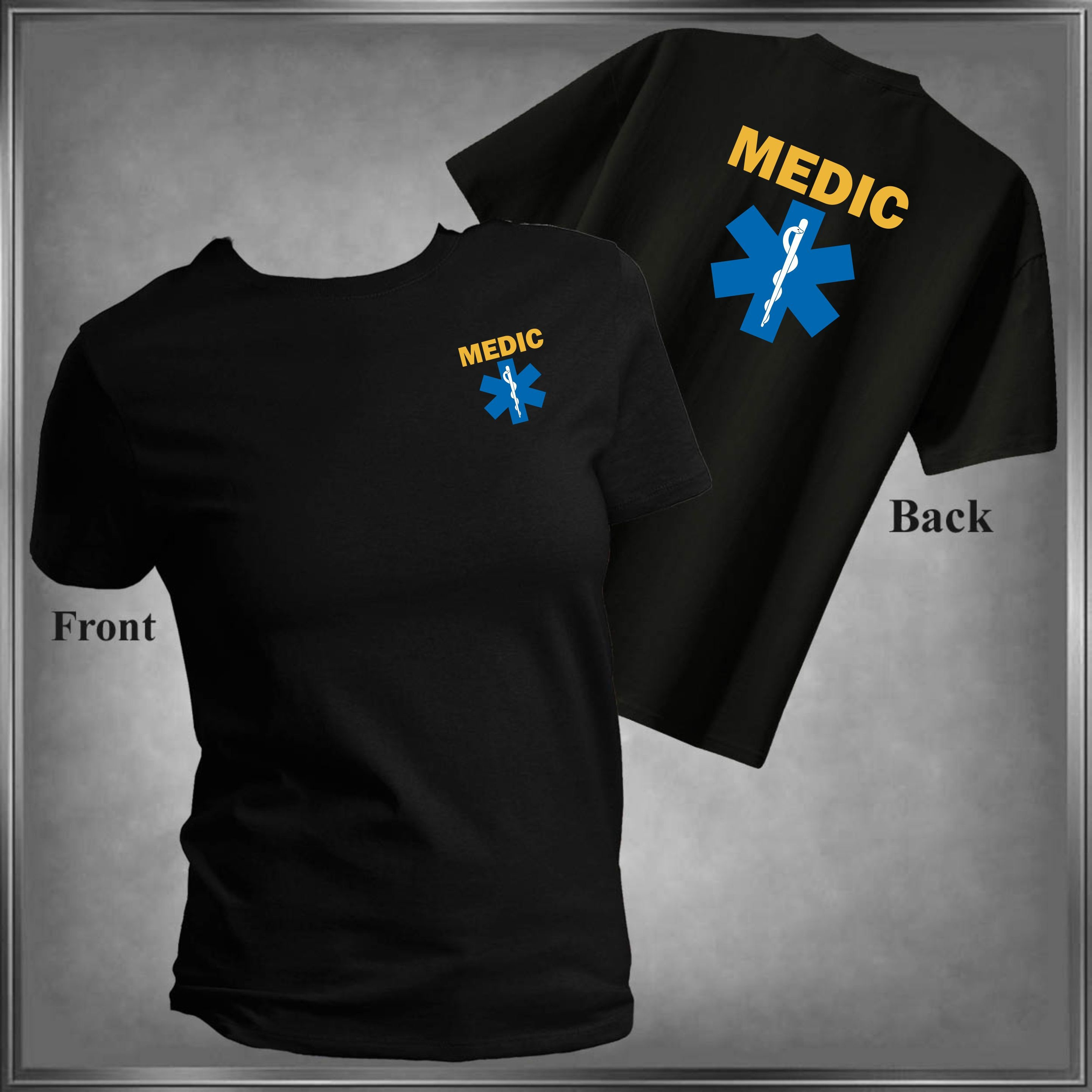 Emergency Medical Services Shirt Medic T Shirt Select Colors All