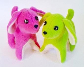 Easy Dog Pattern,Dog Sewing Pattern, Dog Toy Sewing Pattern, Dog Pattern, Stuffed dog pattern, doggy sewing pattern, doggie toy pattern