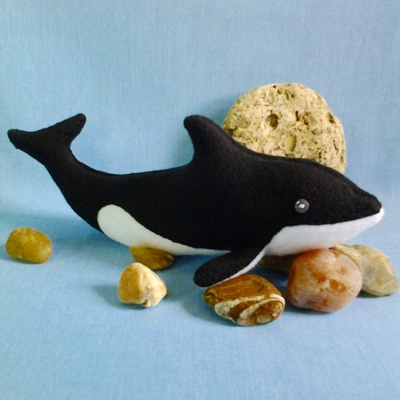 Dolphin Killer Whale Pattern Easy Sewing Pattern Dolphin Etsy Beauteous Whale Pattern