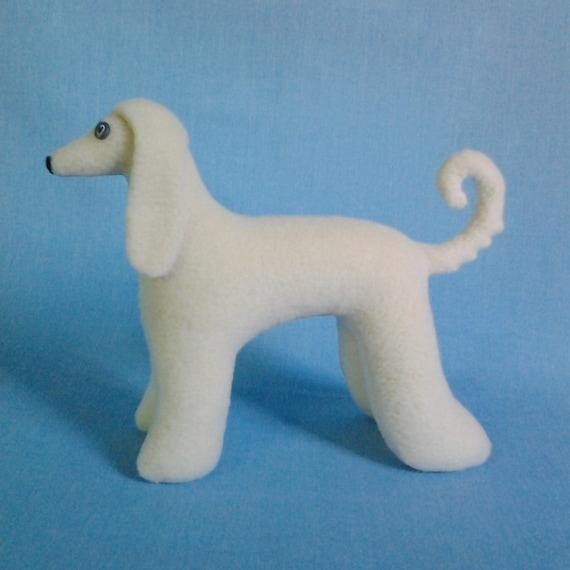 SALE Afghan borzoi dog sewing pattern Stuffed dog pattern | Etsy