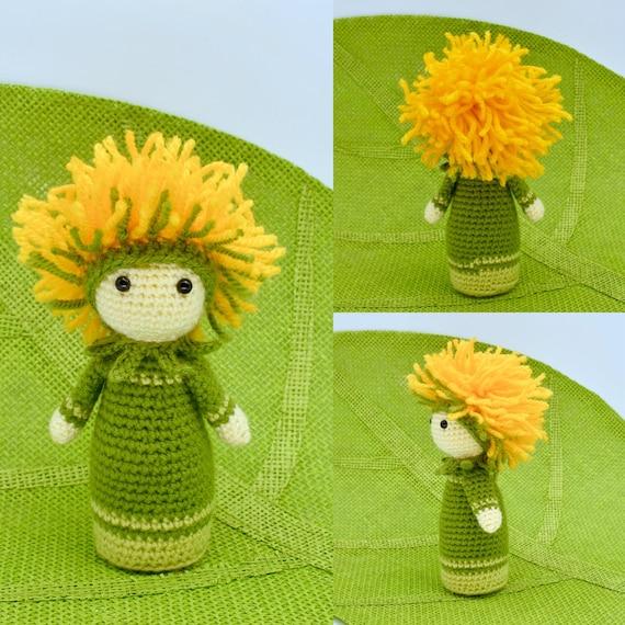 Crochet flower dolls Snowdrop Sia, Peony Pam and Hydrangea Hank ...   570x570