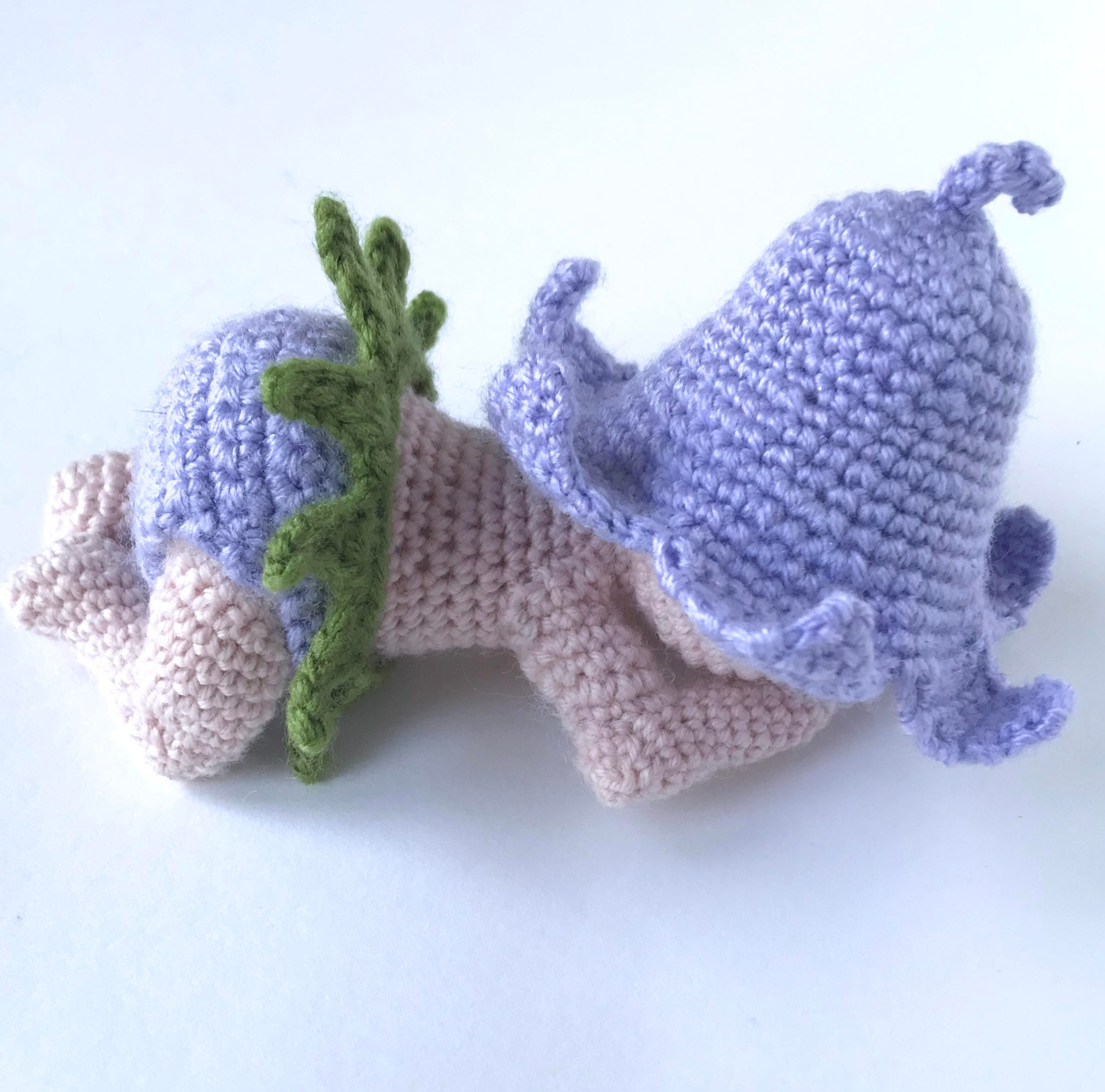Crochet Bluebell Pattern Crochet Newborn Baby Outfit Pattern Etsy