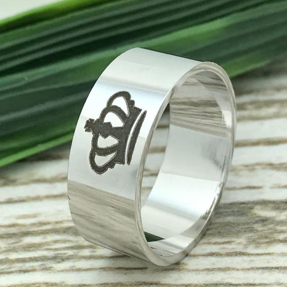 Engraved Wedding Date Ring Wife Name Ring Custom Promise Ring for Him 10mm Black Tunsgten Ring Roman Numeral Ring Coordinates Ring