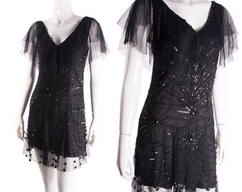 9bcee0b90 Vintage John Galliano Sequin Beaded Dress