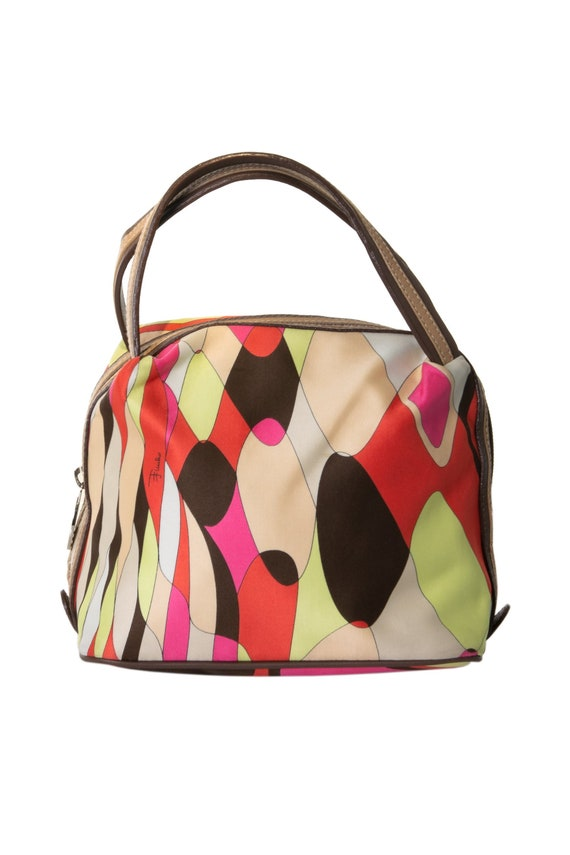 Emilio Pucci Mini Pucci Print Bag