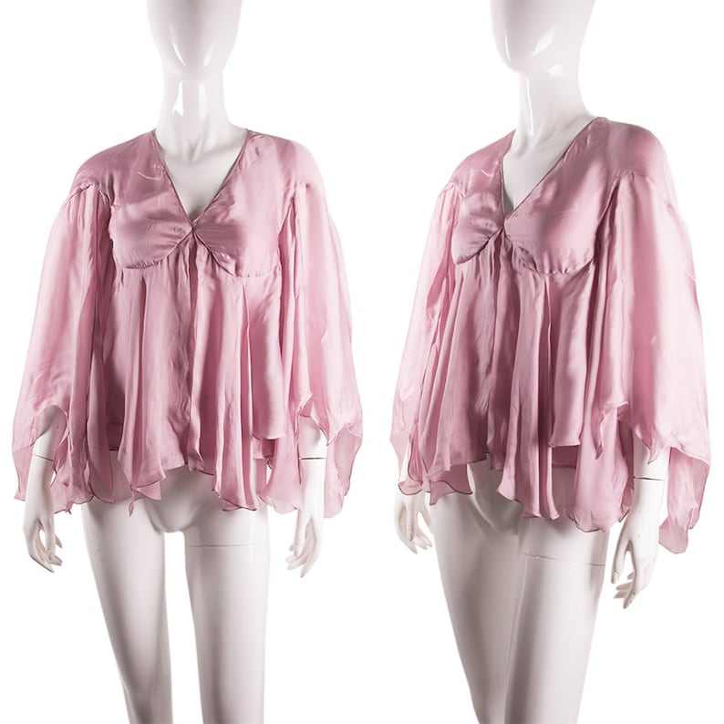 6901739f87d95 Vintage Yves Saint Laurent Rive Gauche Tom Ford Silk Blouse