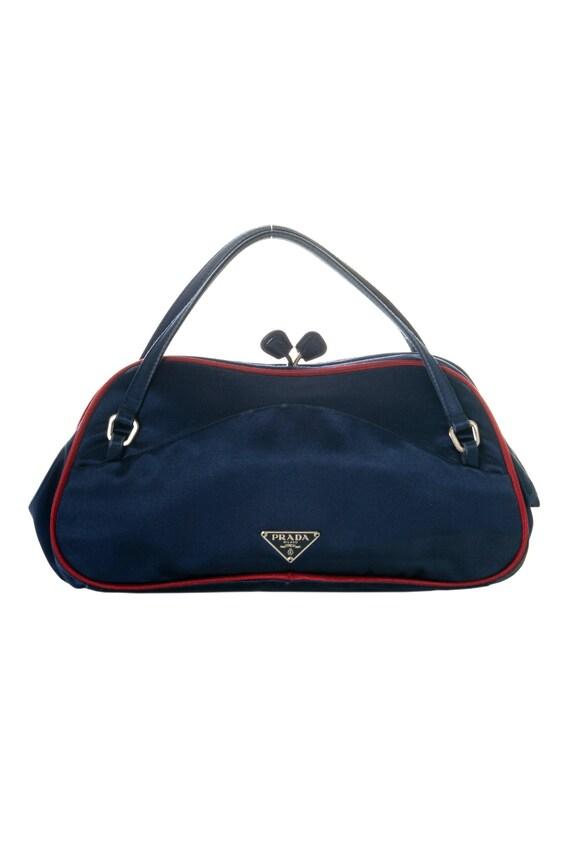 Prada Satin Kisslock Bag