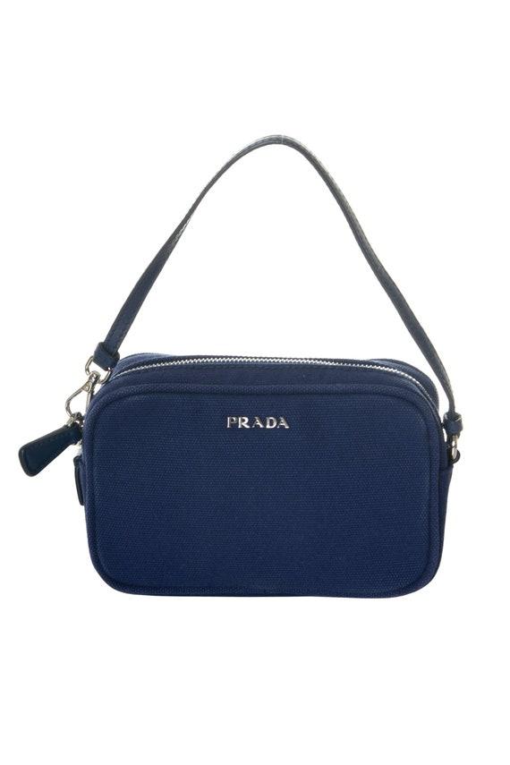 Prada Navy Micro Bag