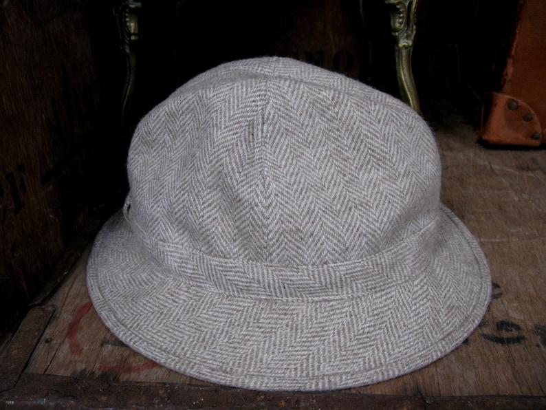279c2396d Ladies Trilby, Wool Trilby, Beige Trilby, Vintage Trilby, Cream Trilby,  Ladies Hat, Italian Trilby, Italian Wool, Pure New Wool, Wool Hat