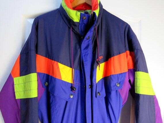 Vintage Ski Suit, Snowboard Suit, 1990s Ski Suit,