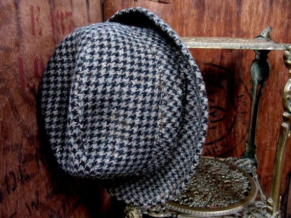 French Trilby, Vintage Trilby, Wool Trilby, Mens T