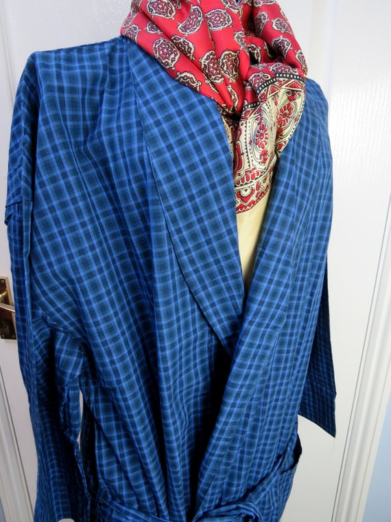 Tootal Smoking Jacket, Tootal Robe, Dressing Gown,