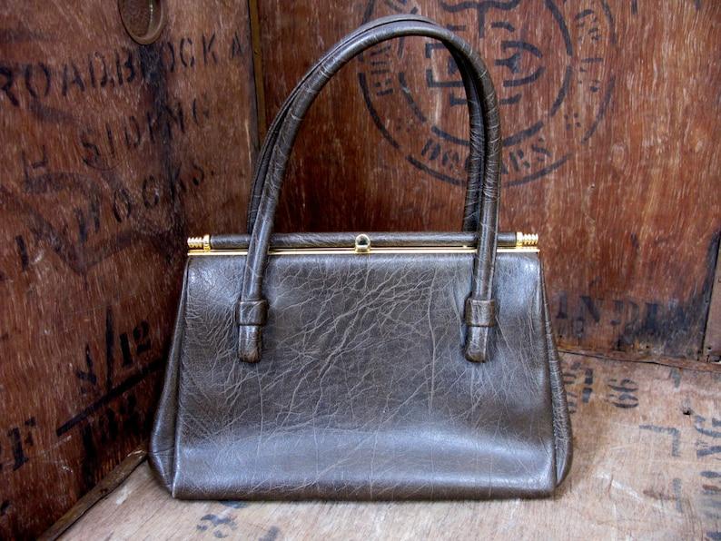0b45c7ca8c0e1 Weymouth amerikanischen Tasche braune Handtasche Vintage