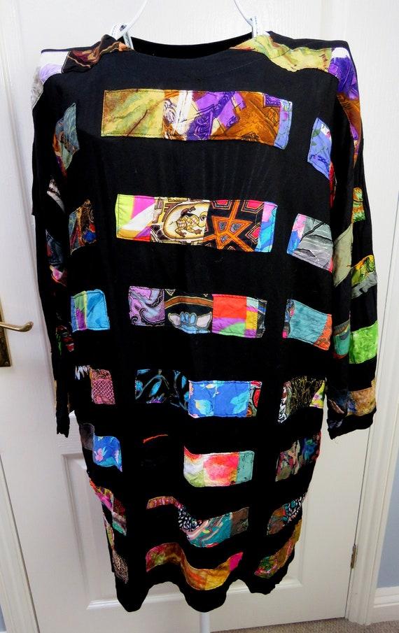 Nativewear Designs, Patchwork Top, Boho Tunic, Eth