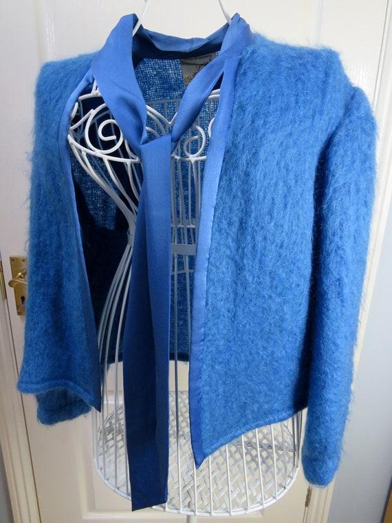 Mohair Wool Jacket, Tessa Lambert, Mohair Cardigan