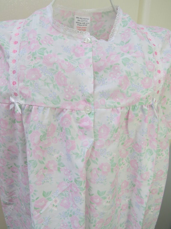 Vintage Nightdress, 1980s Nightdress, Vintage Nigh