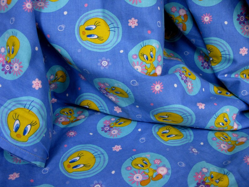 Tweety Pie Throw, Vintage Throw