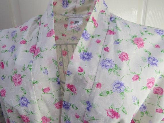 Vintage Dressing Gown, Made In England, Ladies Nig