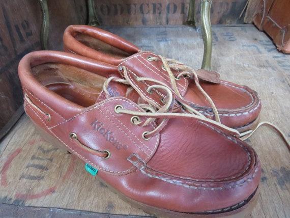Vintage Kickers Shoes, Kickers Shoes, Kickers Boat