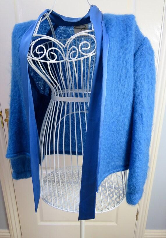Mohair Wool Jacket, Tessa Lambert, Mohair Cardiga… - image 2