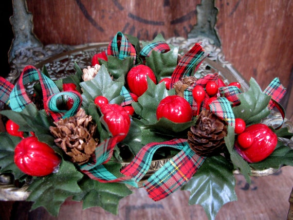 image 0 - Tartan Wreaths Scottish Decorations Christmas Wreaths Etsy