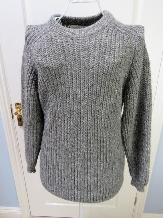 Carberry Jumper, Irish Jumper, Vintage Sweater, Wo