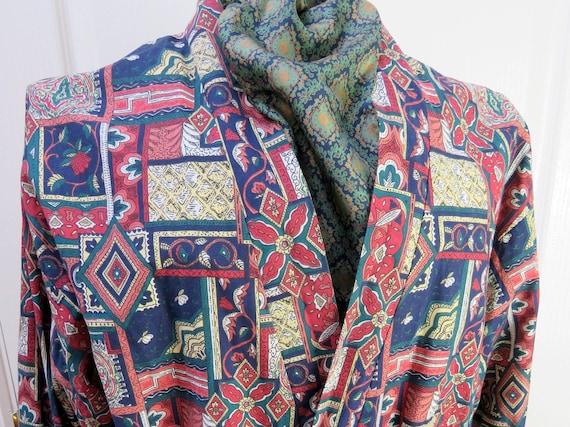 Sammy Smoking Jacket, Cotton Robe, Smoking Jacket,